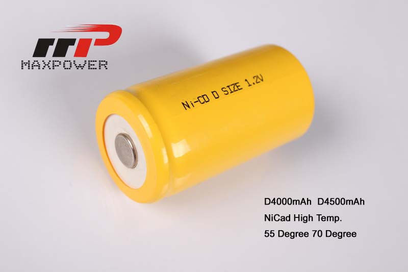 1.2v Annunciator Sub C NICAD Batteries D4500mAh , Flat Battery Pack