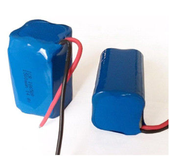 Powerful 1500mAh Li-ion Battery Packs ICR18650-4S 14.4V , Golf Cart Battery Pack