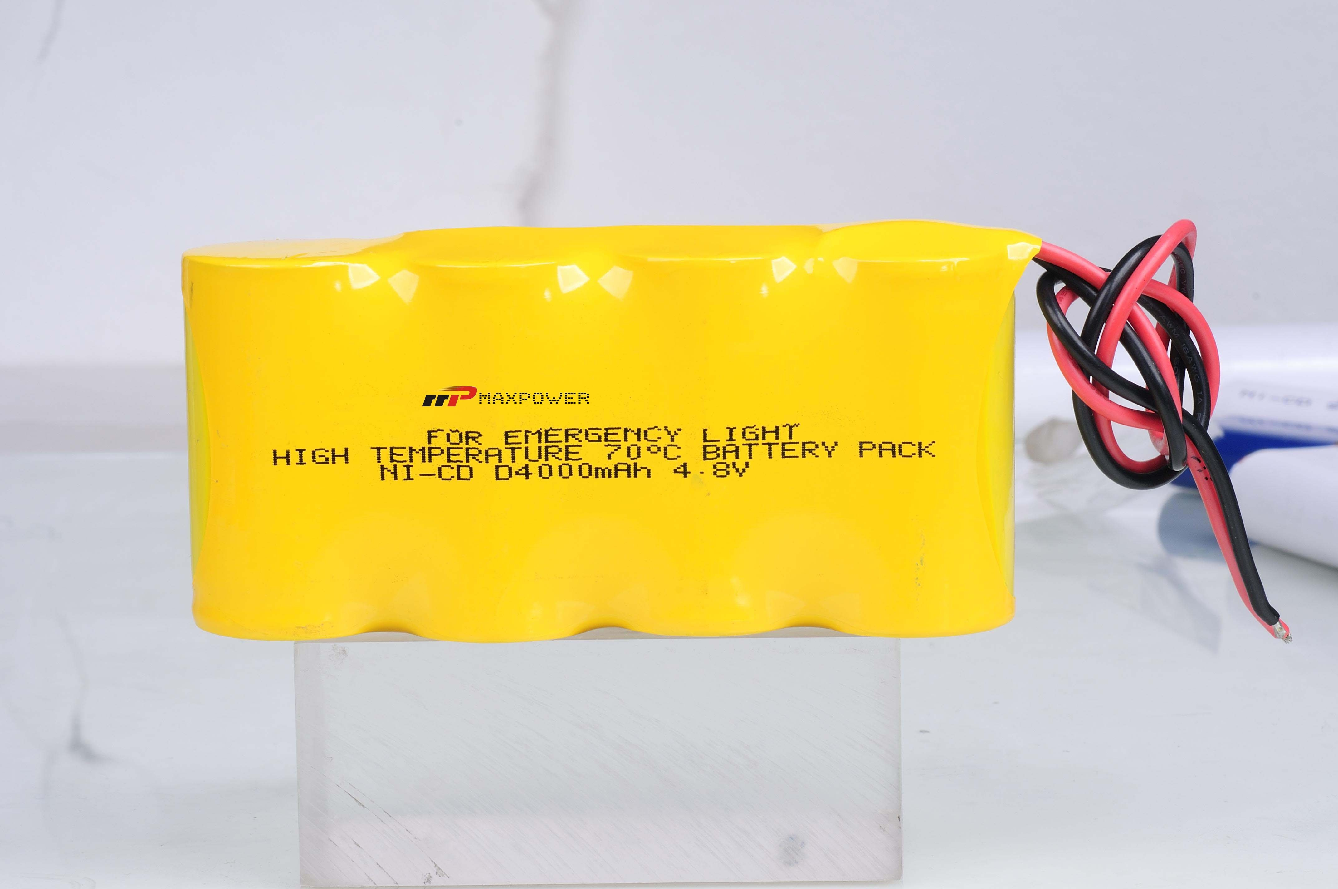 High Charge NICD Rechargeable Batteries